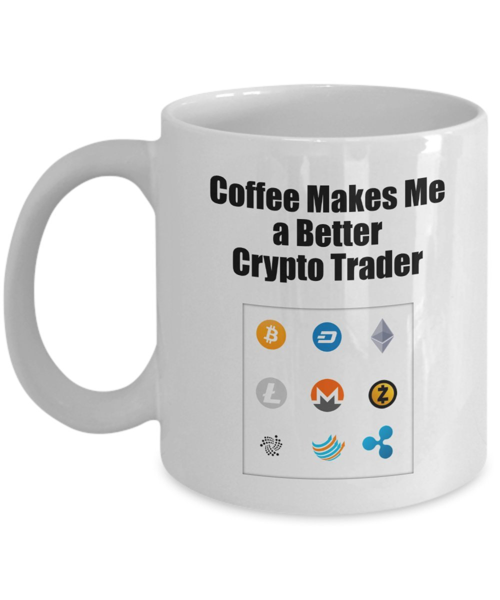 Amazon.com: Funny Bitcoin Coffee Mug - Cryptocurrency Mug ...
