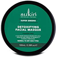 Sukin Super Greens Detoxifying Facial Masque, 100ml