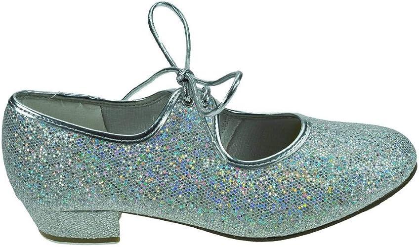 Starlite Maisie Low Heel Glitter Tap