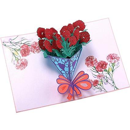 Amazon com: Meidexian888 3D Greeting Cards,Romantic Happy