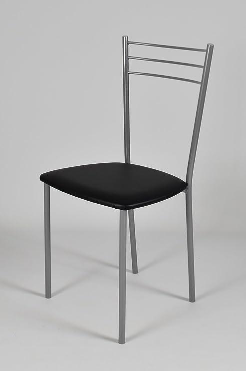 Tommychairs Set 4 sedie per cucina e sala da pranzo moderne, con ...