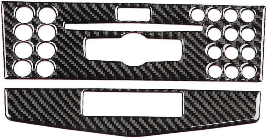 garniture de couverture d/écorative int/érieure pour entra/înement de classe C W204 2007-2010 /à gauche A Qiilu Couvercle du cadre du panneau de commande,Cadre de panneau de commande de voiture