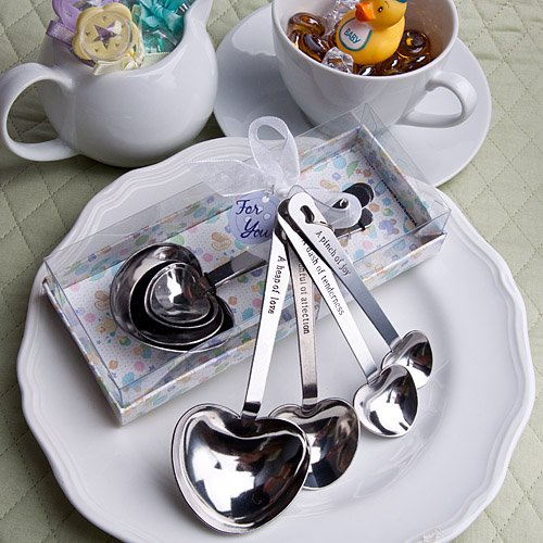 Baby-Themed Measuring Spoons : package of 36