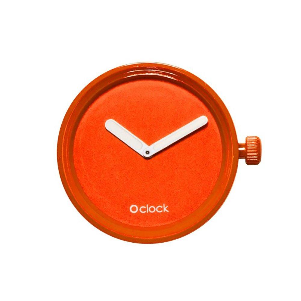 Full Spot o clock mecanismo - Accesorio unisex 32mm Arancione: Amazon.es: Relojes