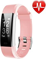LETSCOM Fitness Tracker HR, Activity Tracker Watch with Heart Rate Monitor, Waterproof Smart Fitness Band with Step...