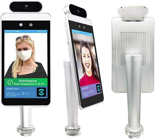DXFK.AM Reconocimiento Facial Infrarrojo Imágenes Térmicas Temperatura Detector Sin Contacto Termómetro De Infrarrojos Sistema De Medida para Entrada Y Salir De Oficina, Centro Comercial: Amazon.es: Hogar