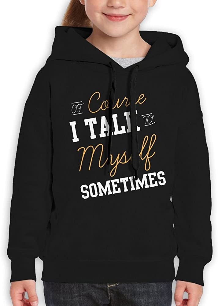 DTMN7 Course I Talk To Myself Sometimes Casual Printed Cotton Jacket For Boy Spring Autumn Winter
