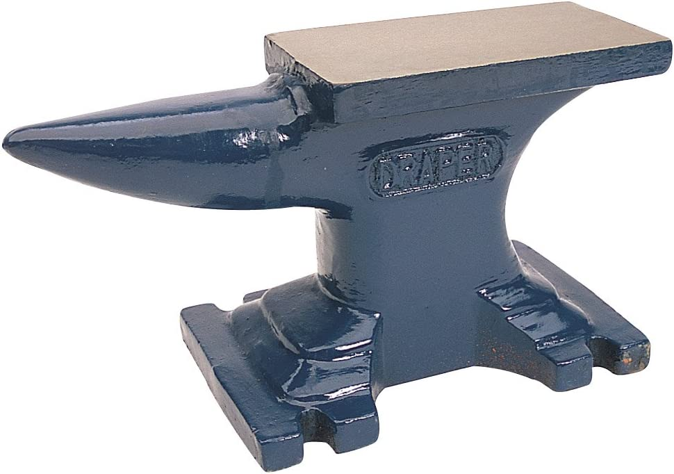 Draper 35481 - Yunque (1 punta, 4,5 kg, hierro forjado)