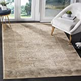 Safavieh Vintage Collection VTG570A Transitional Oriental Ivory and Light Blue Distressed Area Rug (9′ x 12′) Review