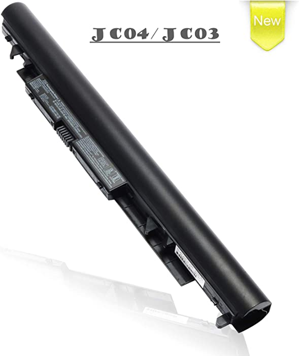 JC03 New Laptop Battery Replacement for HP 255 G6 250 G6 Pavilion 15-BS000 15- BW000 17-BS000 17z Series; P/N: JC04 919681-421 HSTNN-LB7V HSTNN-LB7W HSTNN-PB6Y TPN-C129 TPN-C130 TPN-W129