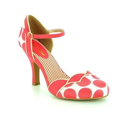 Ruby Shoo Phoebe Sky Blue Ruby Shoo Mid Heels UK 5 oyRhVC