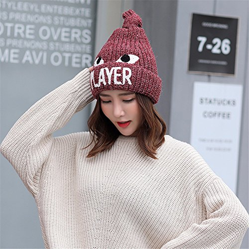Beige Hiver De Tricoté Gueules Gqfgyyl Bonnet En Warm X4wvfq