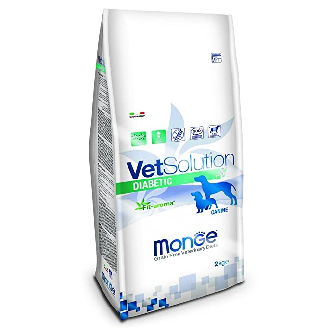 Monge vetsolution Perro Diabetic 2 kg: Amazon.es: Productos ...