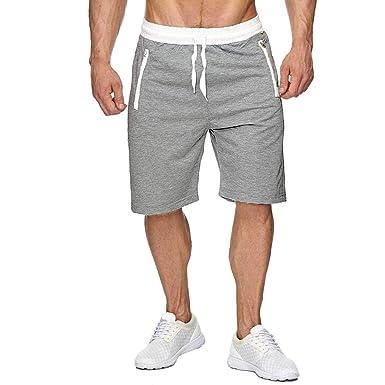 Short Homme Short pour Homme Sport Jogging et d entraînement Fitness  Pantalon Court Jogging Pantalon 2b14d2ee1425