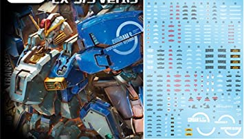 US Seller MG38 MG 1//100 EX-S EXS S Gundam Gunpla MSA-0011 Waterslide Decal