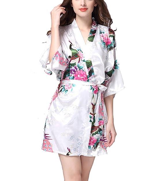 TT Global Mujer Pijama Sin Mangas Cordón Vestido para Dormir Telas Lisas Talla Grande Camisón Suelto, Sexy Premium Nightgown Nightshirts Satin Silk Chemises ...