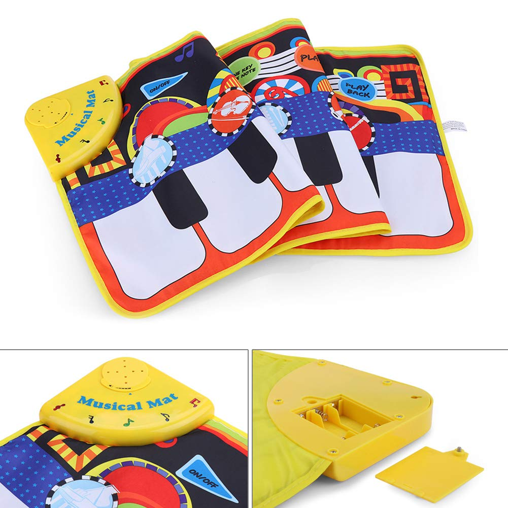 Yeenee 19 Keys Piano Play Mat Dance Musical Mat Kids Musical Floor Game Activity Blanket Cushion by Yeenee (Image #2)