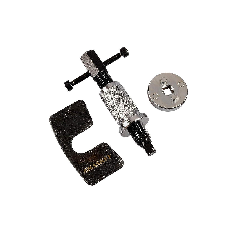 Haskyy Brake Caliper Rewind Tool Disc Piston I UNIVERSAL Tool I Extra SOLID Design