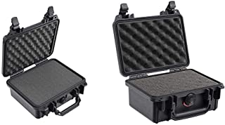 product image for Pelican 1200 Case With Foam (Black) & 1120 Case With Foam (Black)