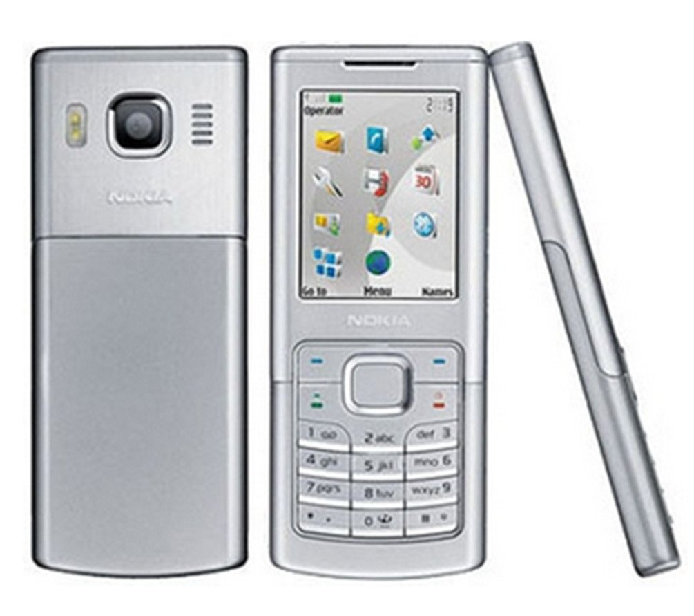 Unlocked Nokia 6500c Ultrathin Bar Fashion Metal Business affairs Mobile phone