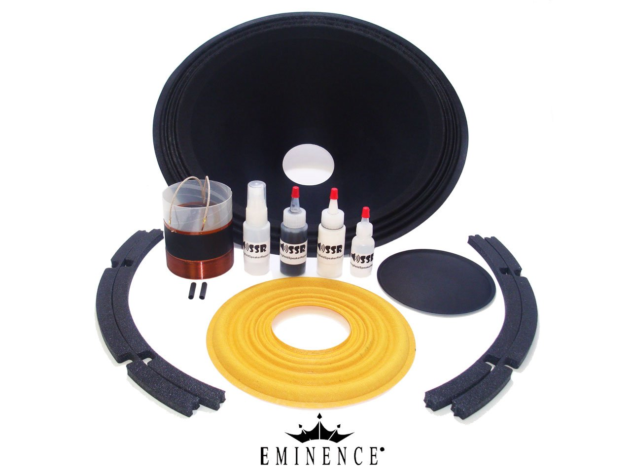 Genuine Eminence Sigma Pro 18A2 Speaker Recone Kit - OEM Factory Parts