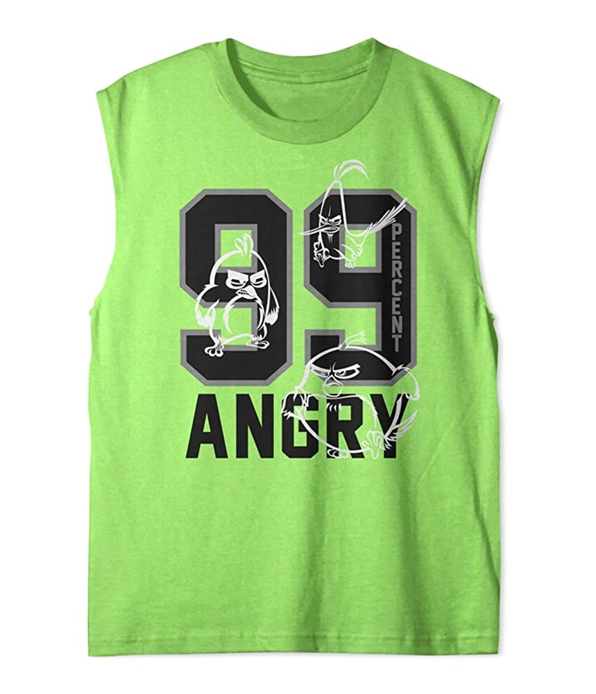 Angry Birds Boys' Muscle T-Shirt Rovio Entertainment 2-BAMB0062