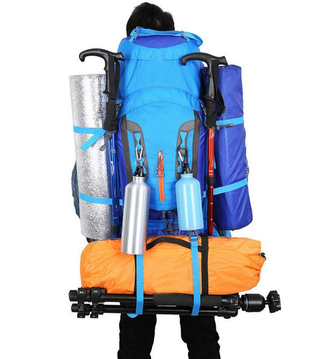 Color : Green Zehaer Climb Backpack Mountaineering Bag Outdoor 80L Large Capacity Multi-Function Travel//Camping//Hiking//Cycling Backpack Lightweight