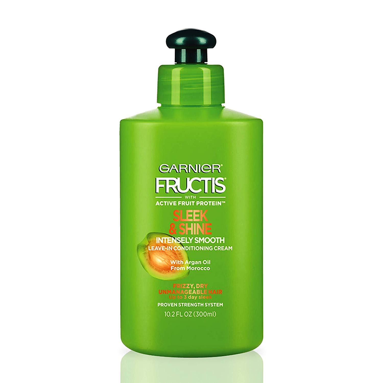 Garnier Fructis Sleek & Shine Intensely Smooth Leave-in Conditioning Cream - 10.2 fl. oz.