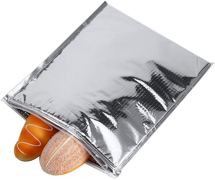 VGEBY1 5PCS Sacs de Sandwich Isotherme Glaci/ère Thermique de Sac de Stockage de Nourriture Gardent des Articles pour Le Stockage de Nourriture