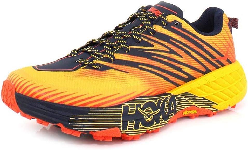 HOKA ONE One Speedgoat 4 Deportivas Hommes Naranja - 45 1/3 - Running/Trail: Amazon.es: Zapatos y complementos