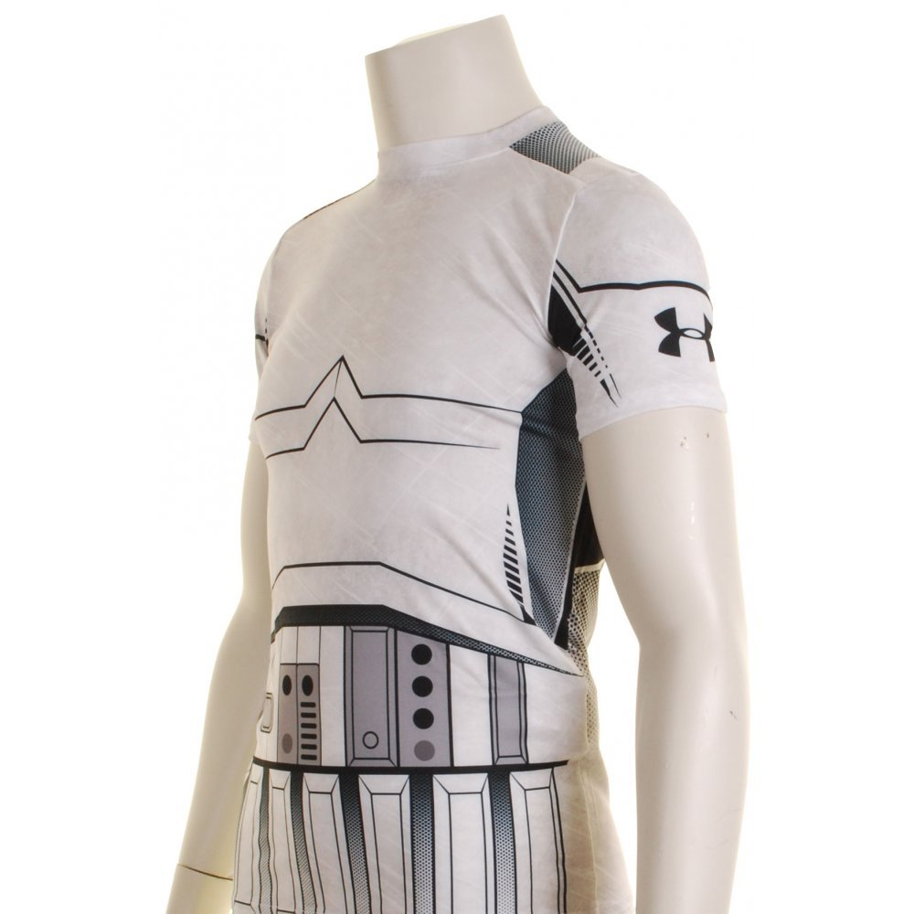 Under Armour Star Wars Compression Kids Base Layer Top X Small Trooper by Under Armour (Image #2)