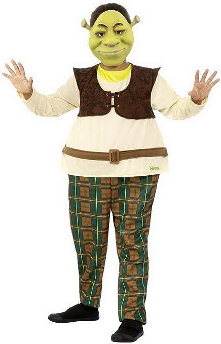 Confettery - Disfraz de Mono y máscara para niño Shrek Deluxe ...