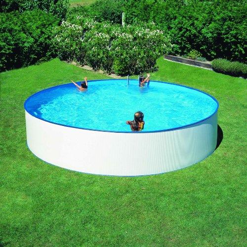Gre FSP400 - Liner para Piscinas Redondas, Diámetro de 400 cm, Altura de 90 cm, Color Azul: Amazon.es: Jardín