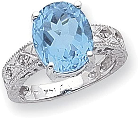 Jewelry Adviser Rings 14k White Gold ring