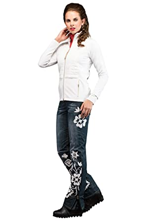 7d022f66a02 EM-EL Bogner Sport Morina Lightweight Down White Mid-Layer (Large ...