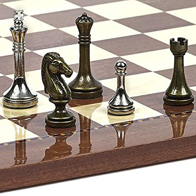 Astor Row Metal Chessmen. King: 2 1/2""