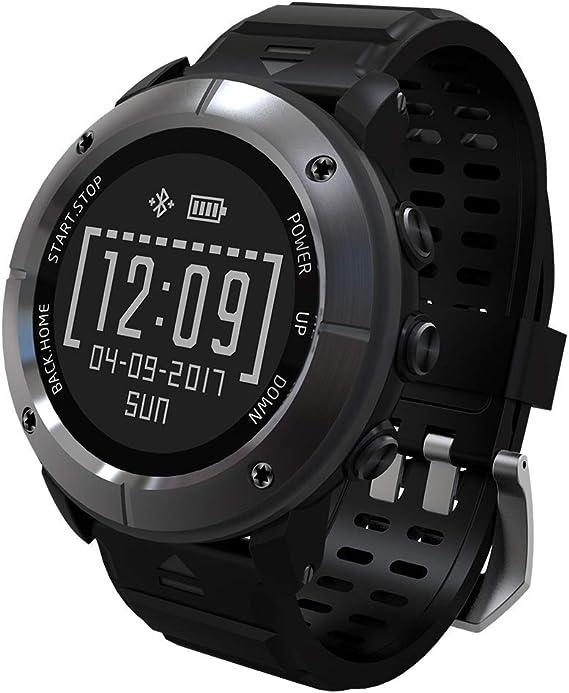 Amazon.com: HXZB Smart Watch, 1.2 inch E-Ink Screen - GPS ...