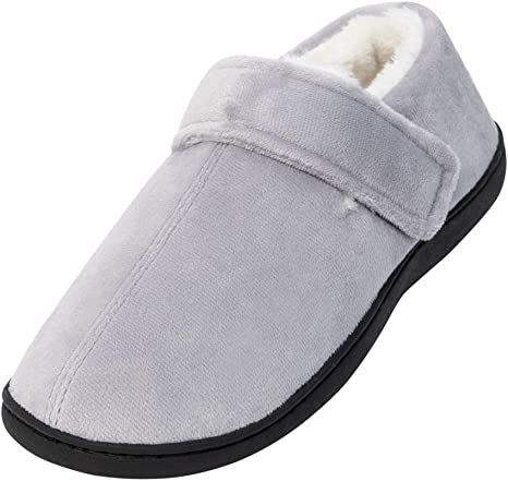 Men - Extra Wide Mens Slippers