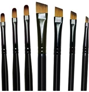 ROYAL LANGNICKEL Majestic Angular Brush Set-7//Pkg RMAJ-301