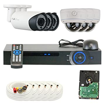 2x Vari-Focal 2.8-12 mm Outdoor//Indoor Security Camera for Home CCTV DVR System