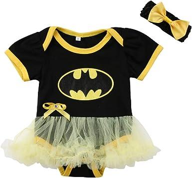 Body de algodón con diseño de Batman para bebé recién Nacido, con ...