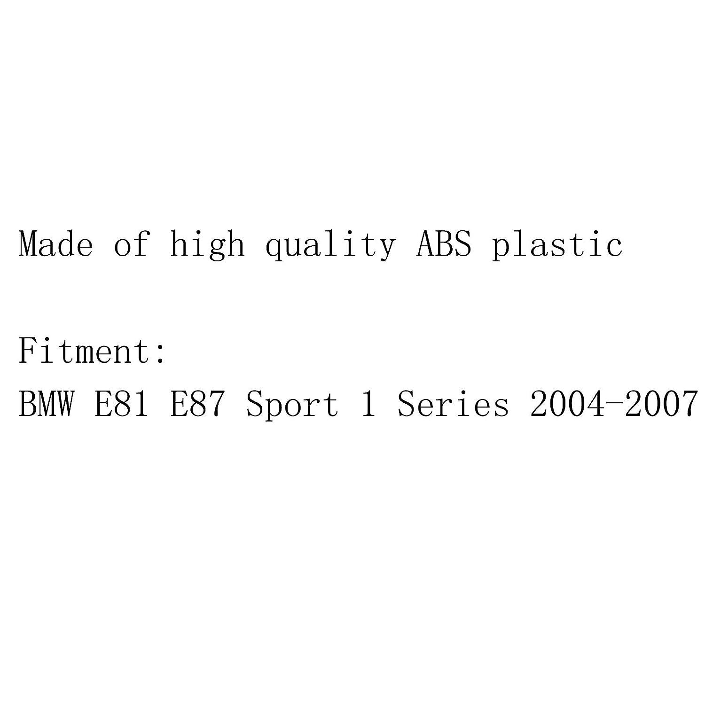Areyourshop Grille de rein avant pour E81 E87 Sport 1 Series 2004-2007 Noir mat