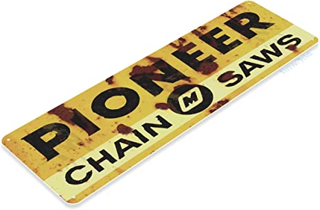 STIHL chainsaw tools equipment garage metal tin sign shop decoration