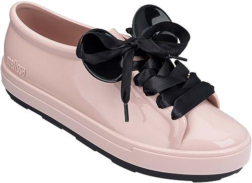 Melissa Shoes Women s Be + Disney Pink Black 8 M US  Amazon.com.mx ... 46e3f4d3d118