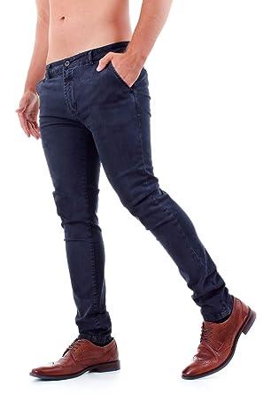 Con Stile Jeans Chino Tasche Uomo tCQhrds