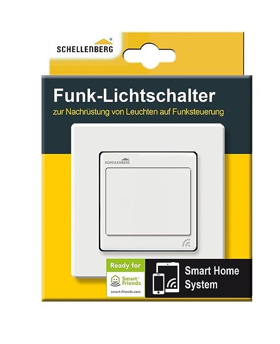 Schellenberg Smart Home Funk-Lichtschalter | Lichtsteuerung per ...
