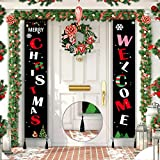 AESH Christmas Porch Sign, Welcome and Merry