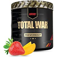 Redcon1 Total War - Pre Workout, 30 Servings, Boost Energy, Increase Endurance and Focus, Beta-Alanine, 350mg Caffeine…