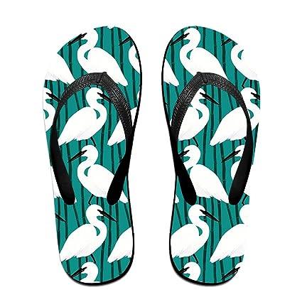 00c9512b37451 Beach Seagulls Men s Flip Flops Fashion EVA Non-Slip Pool Sandal Summer  Outdoor Beach Sandals