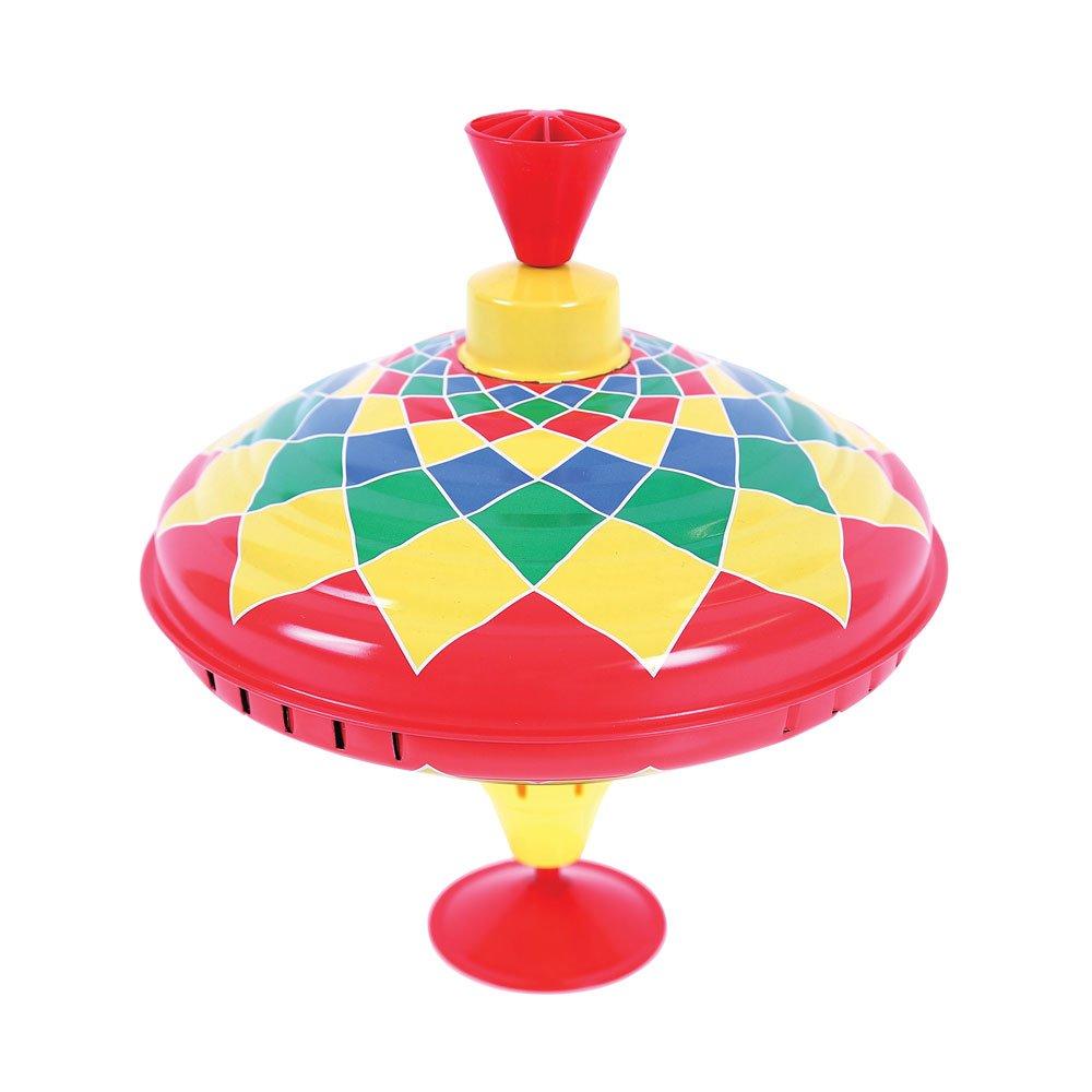 Bigjigs Toys Tin Humming Top - Traditional Toys